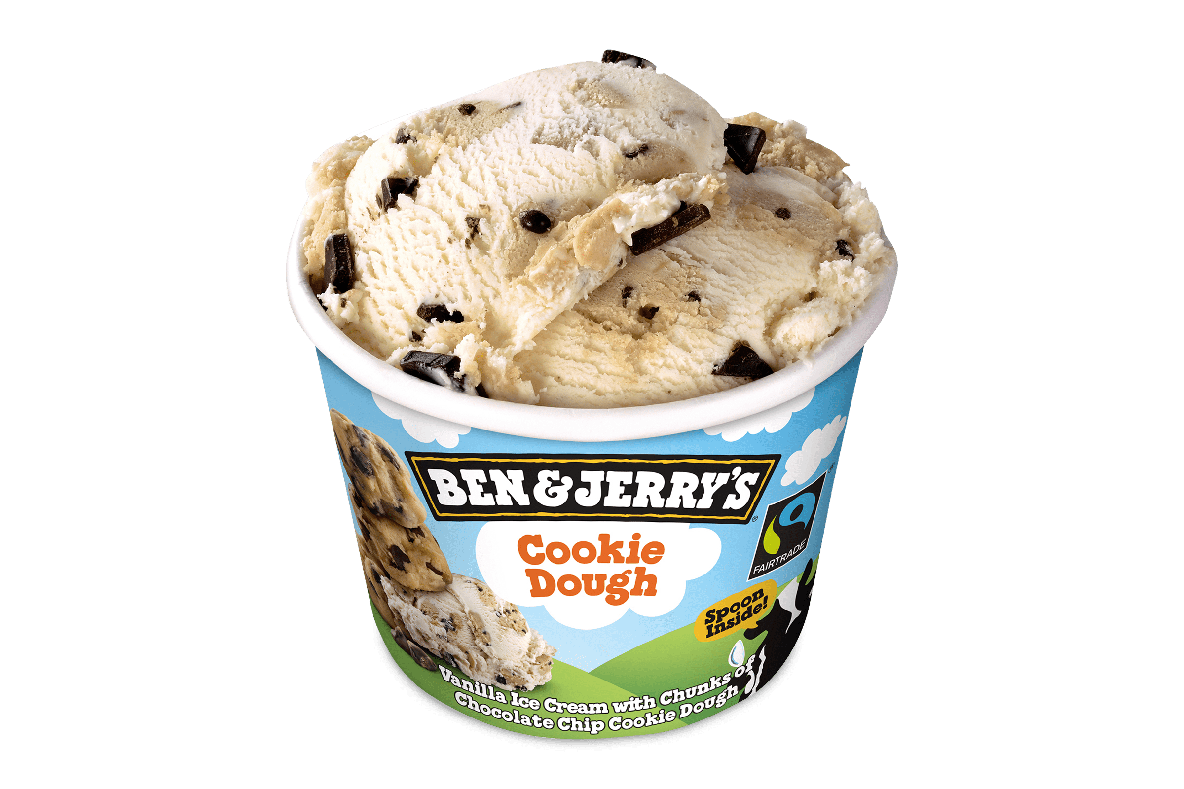 Ben and Jerrys Cookie Dough 100 ml 1