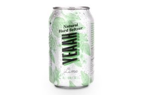 YEAAH Hard Seltzer Lime 0.33 l 6